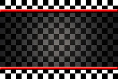 Background With Black and White Squares Royalty Free Stock Photography