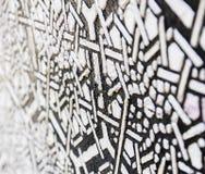 Background. Black and white Tile , background Royalty Free Stock Photo