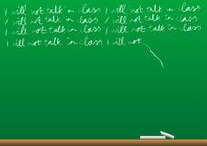 Background - Blackboard Stock Photography