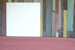 Background with blank sheet of paper Stock Images