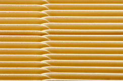 Background of Blank Tab Divider Cards. A close up looking down on many interleaving blank tab divider cards Royalty Free Stock Photos