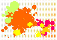 Background from blots. Figure of a background with blots horizontal Royalty Free Stock Photos