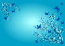 background blue διανυσματική απεικόνιση