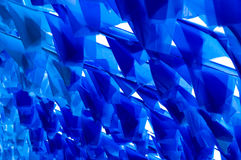 Background blue banner. Mystery light blue banner of the abstract Stock Photo