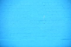 Background of blue brick wall texture Royalty Free Stock Images