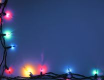 background blue christmas στοκ εικόνες με δικαίωμα ελεύθερης χρήσης