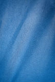 Background blue cloth Royalty Free Stock Image