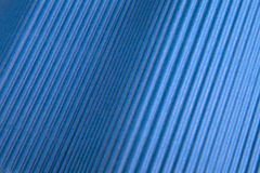 Background of blue corrugated cardboard Stock Photography