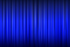 Background with blue curtain Royalty Free Stock Photography