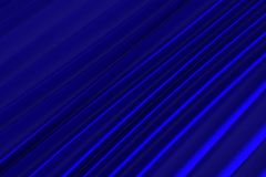 Background of blue 3d abstract waves. Render Stock Image