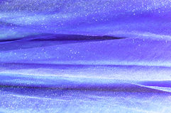 Background from blue delicate fabric Royalty Free Stock Photo