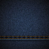 Background of blue denim. Stock Photography