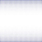 The background of blue dots of different sizes having different density on white. The background of blue dots of different sizes having different density on vector illustration