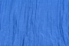 Background blue fabric Stock Images
