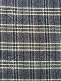Checkered fabric texture pattern Royalty Free Stock Photography