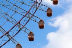 background blue ferris sky wheel Στοκ Εικόνες