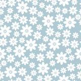 background blue floral Διανυσματική απεικόνιση