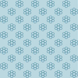 background blue floral Ελεύθερη απεικόνιση δικαιώματος