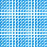 Background from blue fragments of glass Stock Photos