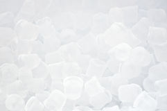 Background of blue ice cubes Stock Image