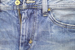 Blue jeans texture. Background of blue jeans texture Stock Image