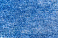 Background of blue jeans texture Royalty Free Stock Image