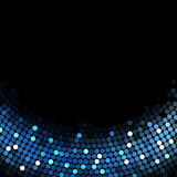 Background with blue lights. Vector black background with blue lights Royalty Free Stock Images
