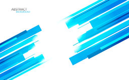 Background with blue lines. Clip-art Royalty Free Stock Photo