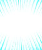 Background of blue luminous rays. Vector. EPS10 Royalty Free Stock Photos