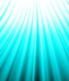 Background of blue luminous rays. Vector. EPS10 Stock Photography