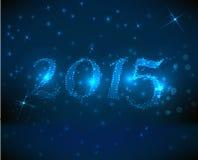 background blue new year Απεικόνιση αποθεμάτων