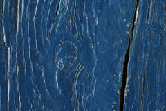 Background from blue painted old wooden boards Royalty Free Stock Photography