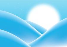 background blue retro απεικόνιση αποθεμάτων