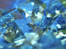 background blue shiny Στοκ φωτογραφίες με δικαίωμα ελεύθερης χρήσης