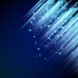 background blue shiny 10 eps Στοκ φωτογραφία με δικαίωμα ελεύθερης χρήσης