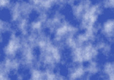 Background of Blue Sky Royalty Free Stock Image