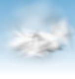 Background Blue Sky Fluffy Clouds. Illustration Background Blue Sky Fluffy Clouds - Vector Stock Photography