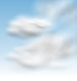 Background Blue Sky Fluffy Clouds Stock Photos