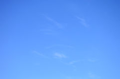 Background Blue Sky And Light Cloud Stock Image
