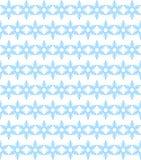 Background of blue snowflakes Stock Photos