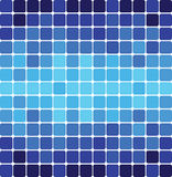 Background of blue squares Stock Photography