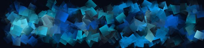 Background with blue squares. Illustration of Background with blue squares Royalty Free Stock Images