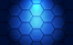 Background blue technology concept for website. vector illustration Stock Images