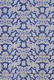 Background of blue tile Royalty Free Stock Photography