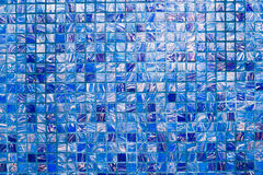Background blue tile Stock Photography