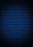 Background with blue triangle. Background with blue metal triangle Stock Photos