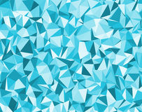 Background with blue triangles Royalty Free Stock Photos