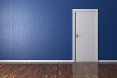 Background Blue Wall Royalty Free Stock Photos
