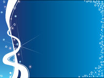 Background blue and white Royalty Free Stock Images