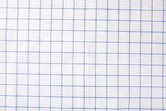 Background of blue and white cloth table. Top view Royalty Free Stock Photo